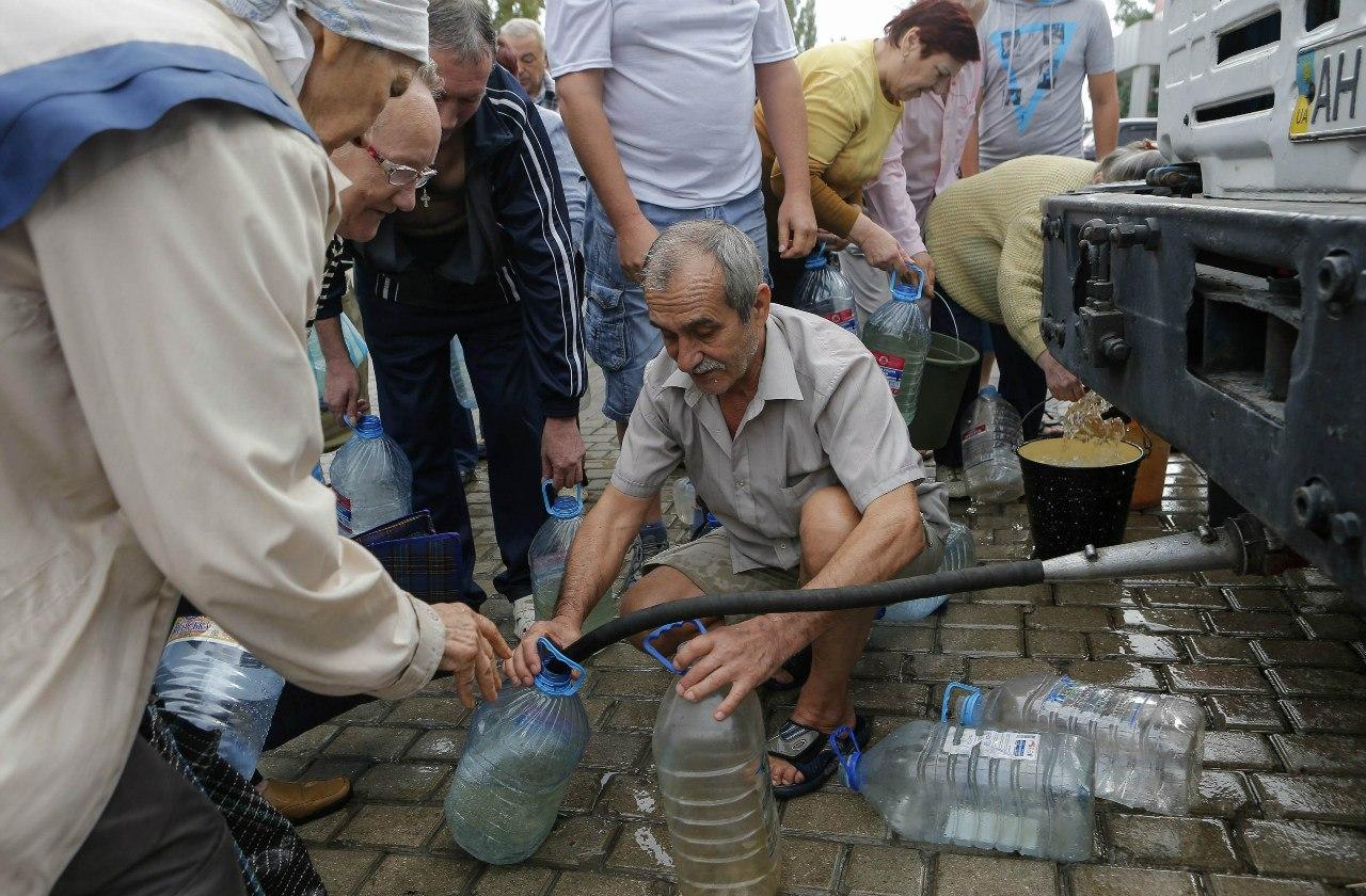 Проблемы с водой решаются