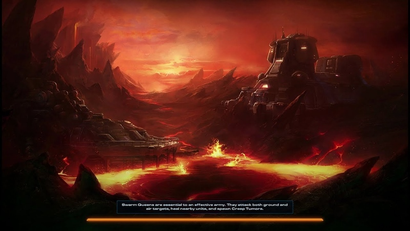 StarCraft 2: Heart of The Swarm - Fire In The Sky (Level 5)