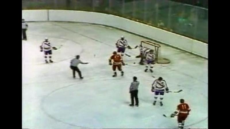 СССР - Канада (Суперсерия 1974 год) Игра 5 (Период 2)