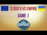 Cloud 9 vs Empire g.1 Euro Qualifier ESL One Frankfurt