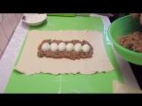 Мясной Рулет в Тесте Сказочно вкусный а готовить невероятно Быстро