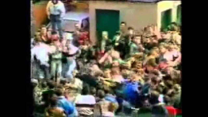 Football Hooligans Linfield v Glentoran