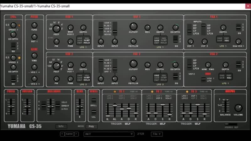 YUMAHA CS-35 by BK Plugs