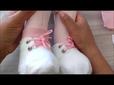 Montagem do sapato dos bonecos- aula 5 -parte 1/1