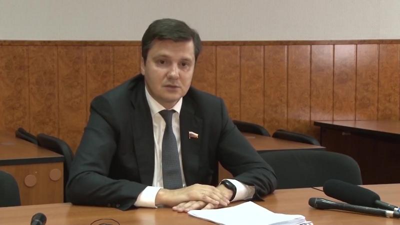 Визит Д.П. Москвина в Арзамас (ТРК Арзамас)