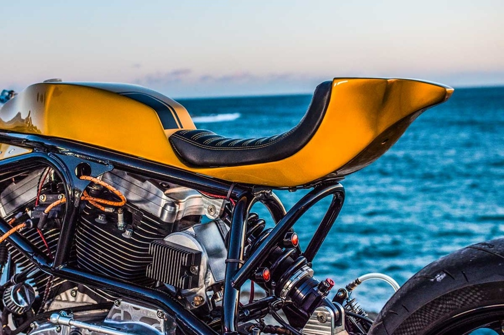 Taverne Motorcycles: кафе рейсер Buell M2 Cyclone
