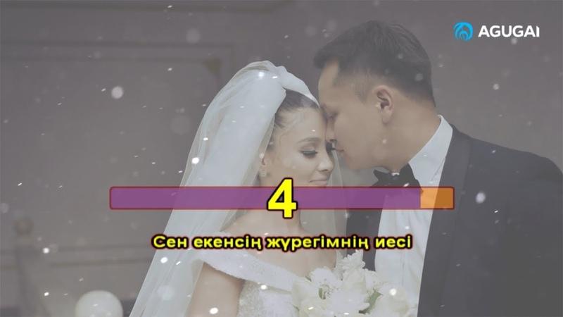 Альбина Шардарова - Жүрегімнің иесі (караоке)