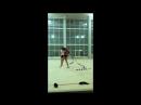 Гимнастки в перерывах между тренировками