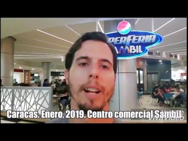 Mini documentário - Argentino mostra o comércio na Venezuela Estão MESMO PASSANDO FOME