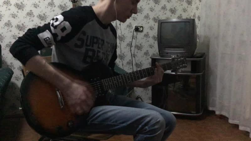 Thousand Foot Krutch — Phenomenon (guitar cover)