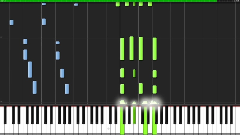 Ill Be There - The Jackson 5 [Piano Tutorial] (Synthesia) Popular Piano Improv