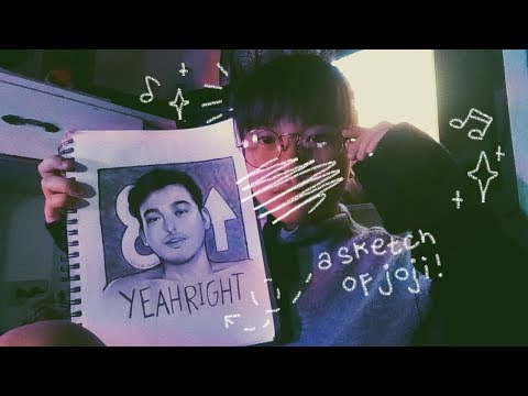 ☆ a cover time-lapse sketch: yeah right by joji ☆