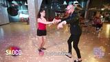 Marco Ivanyk and Samira Faraj Cha-cha-cha Dancing at Salsa Night Awards 2018, Sunday 14.04.2019