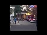 Появилось видео с места убийства Захарченко