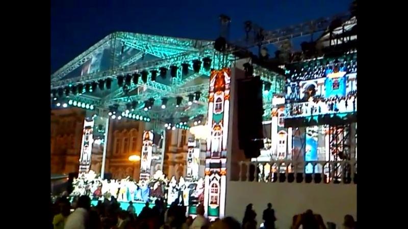 концерт на дворцовой площади на день города