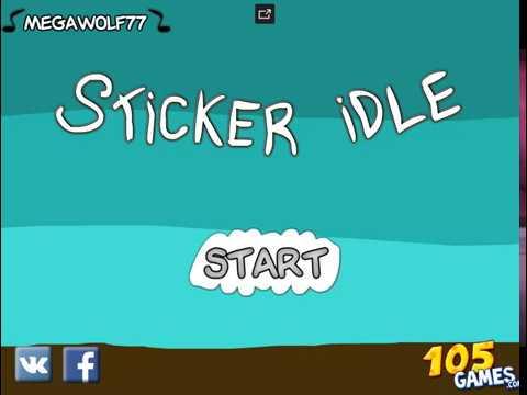 Прохождение игры Sticker idle