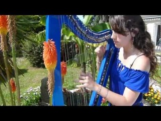 Requiem for a dream (main theme) - harp / harpe - Clint Mansell / Lux Aeterna