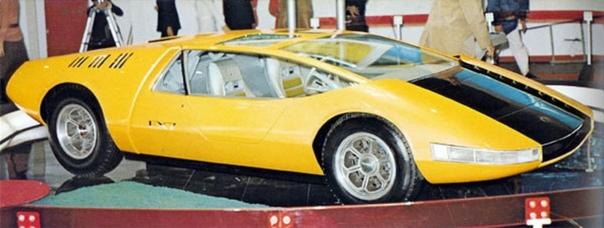 Экспериментальный спортивный автомобиль Toyota EX7. Япония. 1970г.