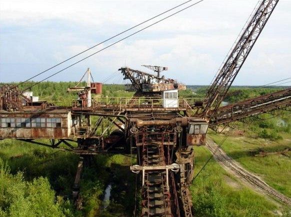 Лопатинский фосфоритный рудник, Московская область