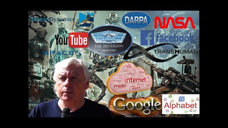 Дэвид Айк Трансгуманистический кошмар Гугл Фейсбук ДАРПА