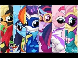 Мой маленький пони на русском языке Могучие пони / My little pony Power pony