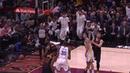 Cavs' LeBron James Throws Alley-Oop of Backboard to Himself in Game 3 vs. Warriors