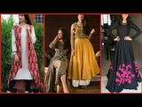 Latest 50 Top Stylish Casual Wear Long Dress designs For Girls 2018-2019