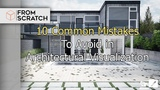 3D Architect 10 Common mistakes to avoid in Architectural Visualization