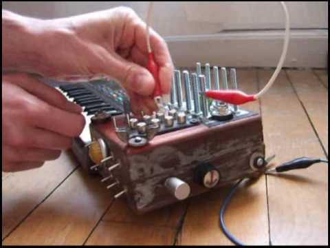 Casio SK-1 circuit bent by RoboticElvis AlienizeD upgrade
