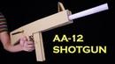 AA 12 Shotgun How To Make DIY Cardboard Gun