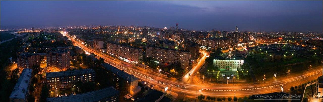 Панорамы Красноярска
