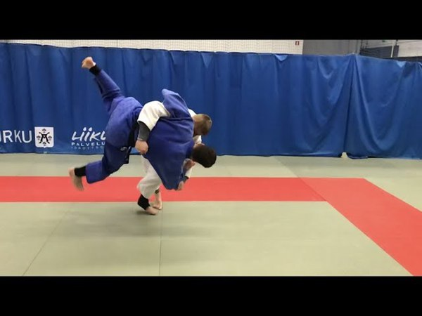 Дзюдо. Офигенная подсечка. Дзюдо броски. Judo. Ashi waza. Judo throws.Unbelievable Judo Throw