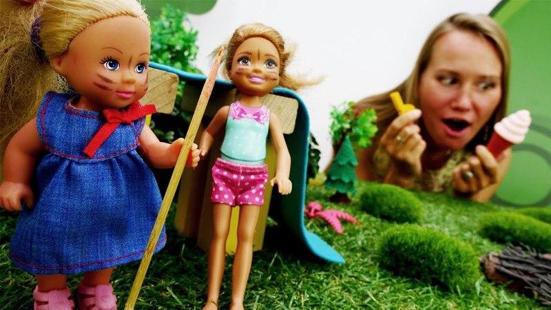 Приключения Штеффи и Челси в детском лагере. Видео для девочек