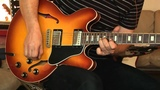 2005 Gibson ES-335 Larry Carlton Model + 1963 Fender Vibroverb Part1