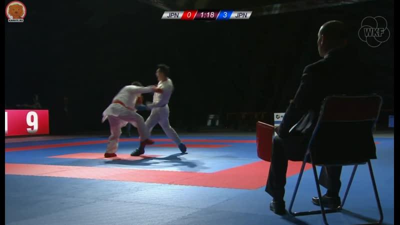 NAKAMURA RYOTA (JPN) vs NISHIMURA KEN (JPN)