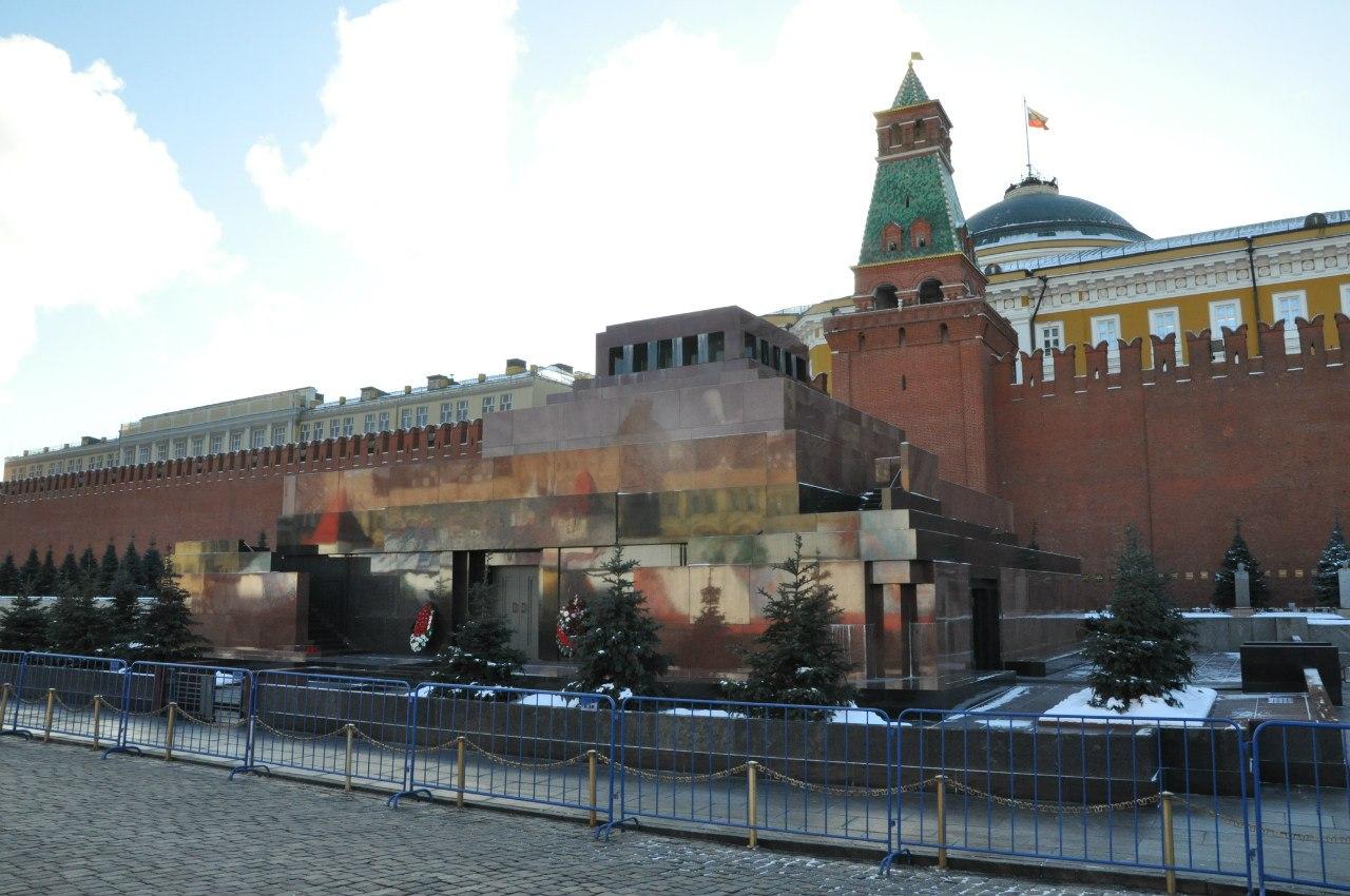 Москва, Красная площадь, Мавзолей Ленина