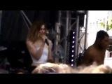 Emmelie de Forest performing Live @ Amsterdam Gay Pride 2014