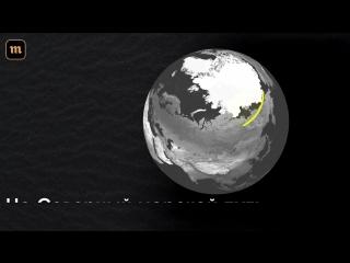 Льды Арктики стремительно тают. Как это изменит морские перевозки