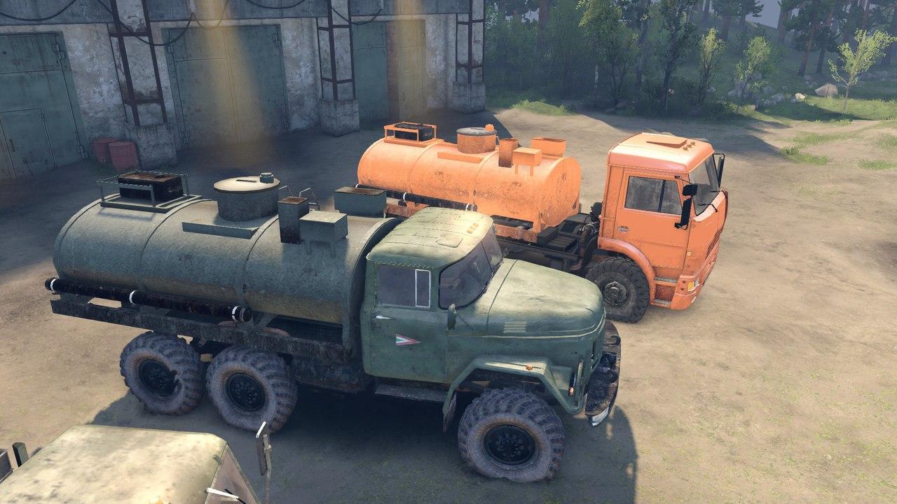 ЗиЛ 131 и 137 с активным роспуском для Spintires - Скриншот 3