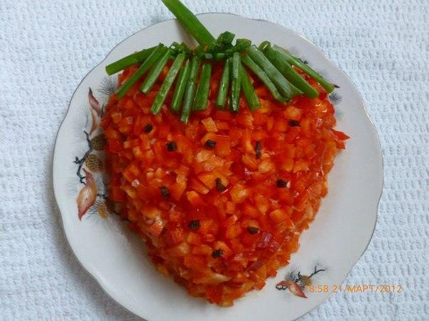 Салат фасоль курица сыр огурец