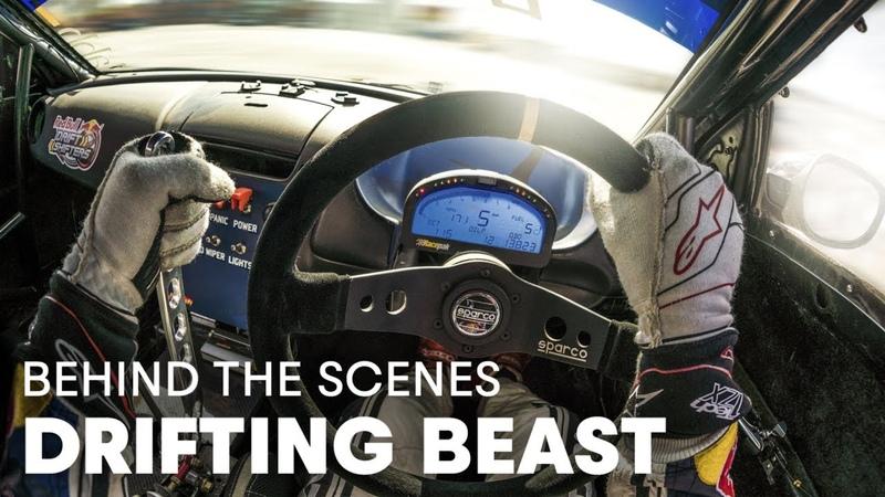 Drift Car Battles With Dakar Rally Truck | Bad Bull vs Kamaz