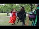 Happy Kelpie - Worcestershire Monkey Dance