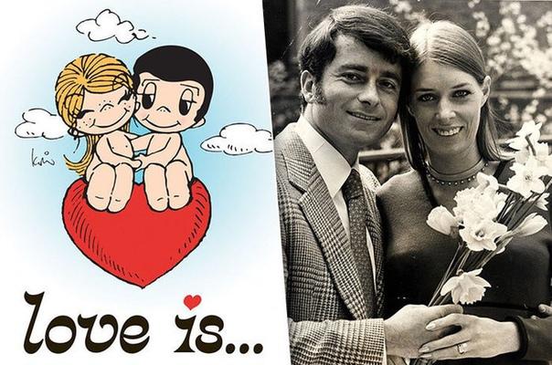 История любви авторов знаменитых комиксов Love Is…