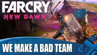 Far Cry New Dawn co-op: Meet Roger Silence and Steven Big Guns!