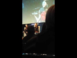Holly Marie Combs and Shannen Doherty Fedcon Panel Part 3.