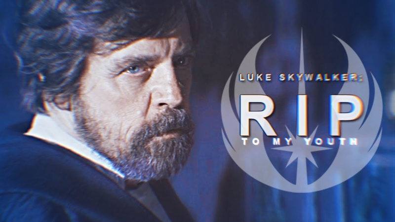 Luke Skywalker || RIP to my youth