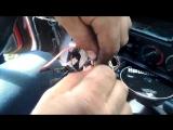 Ремонт проводки магнитолы на BMW E34