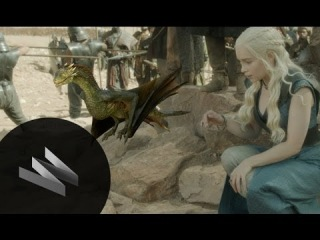 Game of Thrones: Using CGI & Live Action to Create the Dragons & Fights Scenes in Season 4-WIRED