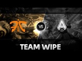 Team Wipe by Fnatic vs Alliance @ D2 Champions League S3