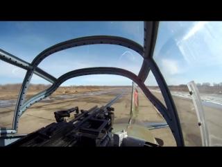 Восстановленный Ил-2: Первое видео полета из кабины стрелка